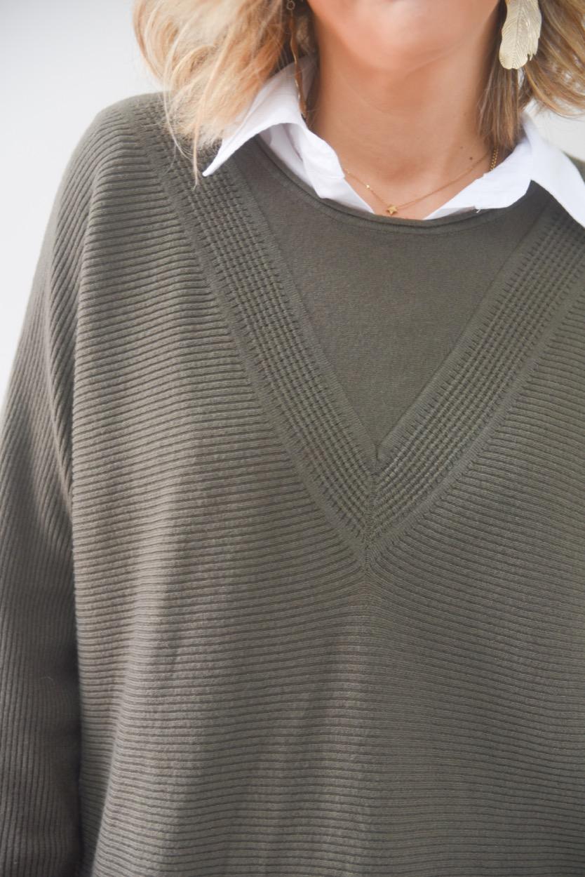 camisola v larga