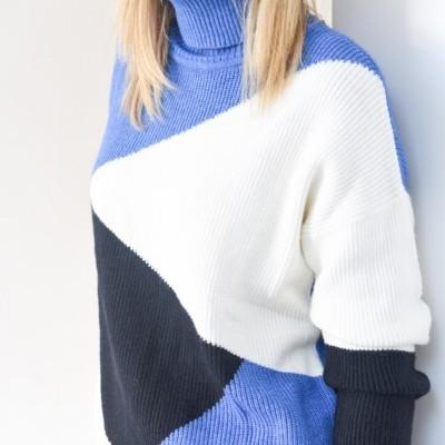 camisola tricolor azulão