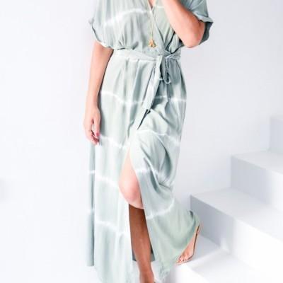 vestido td comp traçar verde seco