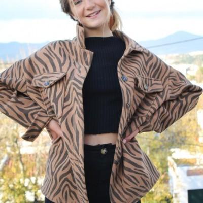 casacão botões zebra