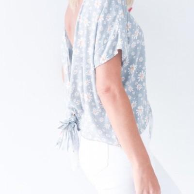 blusa malmequeres