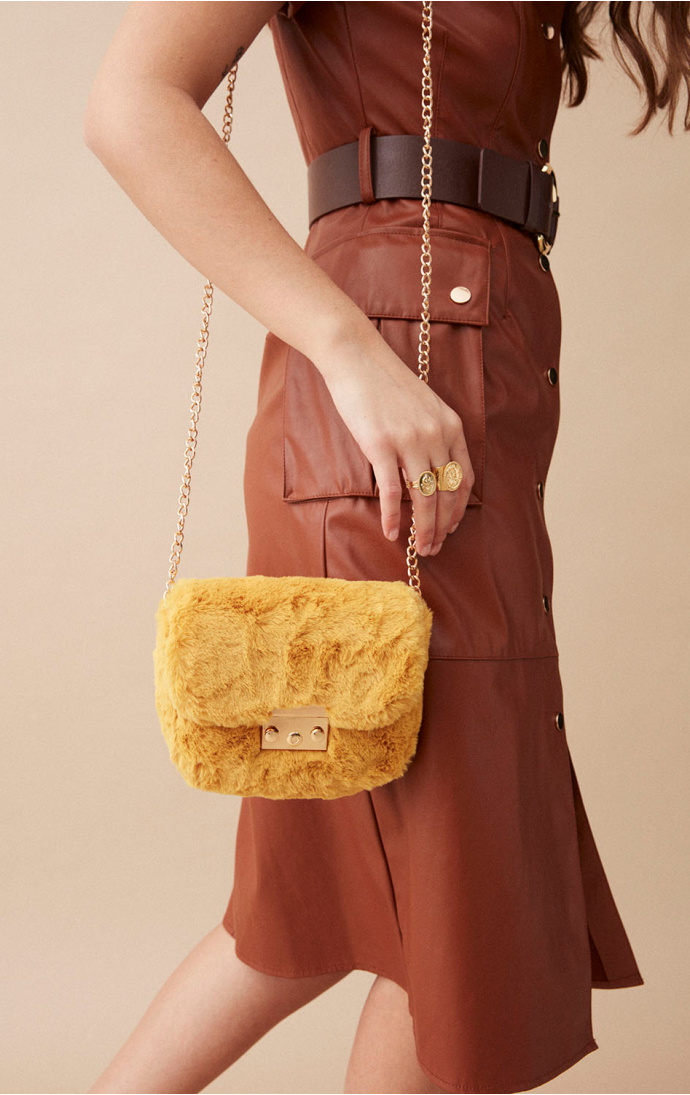 HAND BAG SHILOW YELLOW - WILD PARIS
