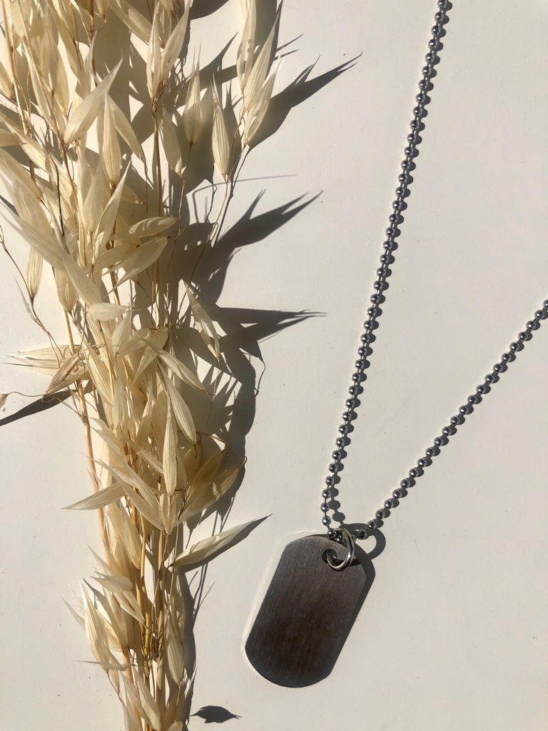 Sandalwood Necklace (SILVER) - ACTO DESIGN