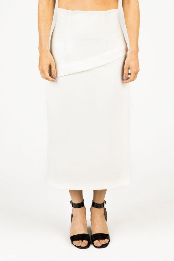 Lisa Skirt - MISSES WHITE