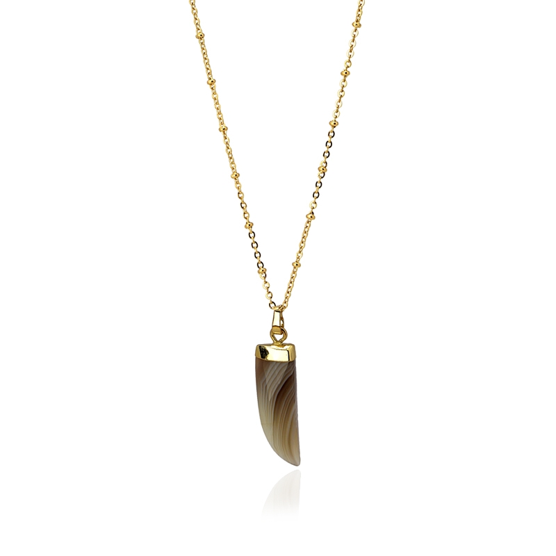 HORN necklace Champagne - ANARTXY