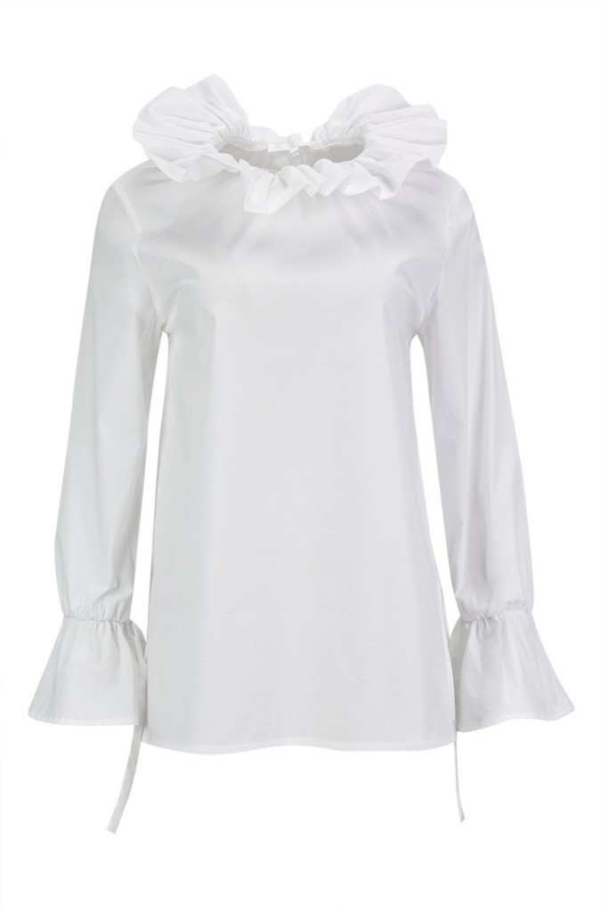 MISSES REGAL SHIRT - MISSES WHITE