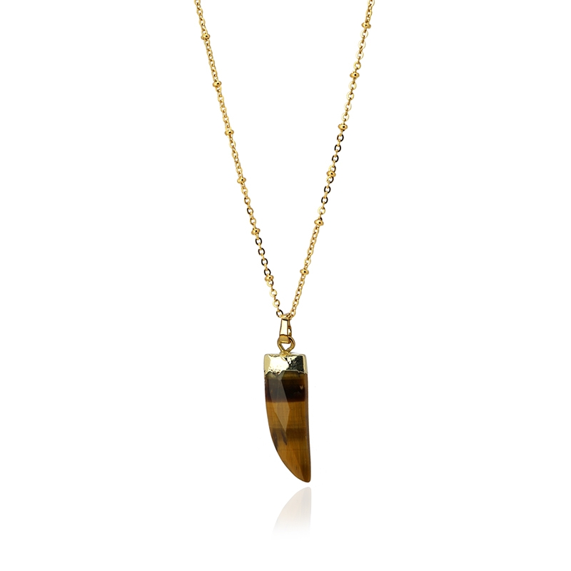 HORN necklace Brown - ANARTXY