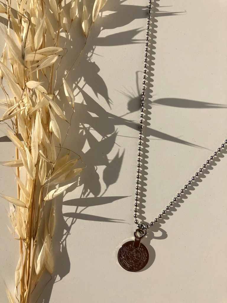 Aloe Necklace (SILVER) - ACTO DESIGN