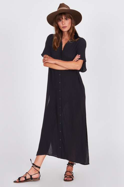 TRANQUILO WOVEN TOP - AMUSE SOCIETY