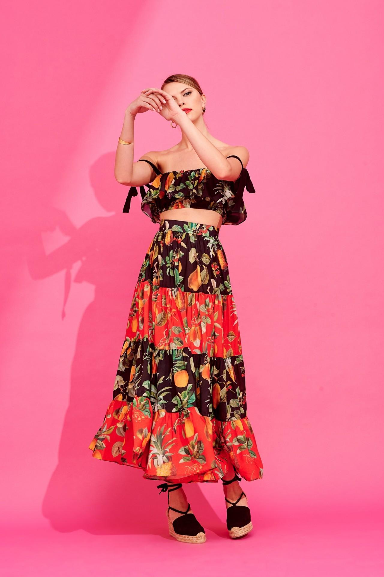 ELVIRA SKIRT - KARAVAN CLOTHING