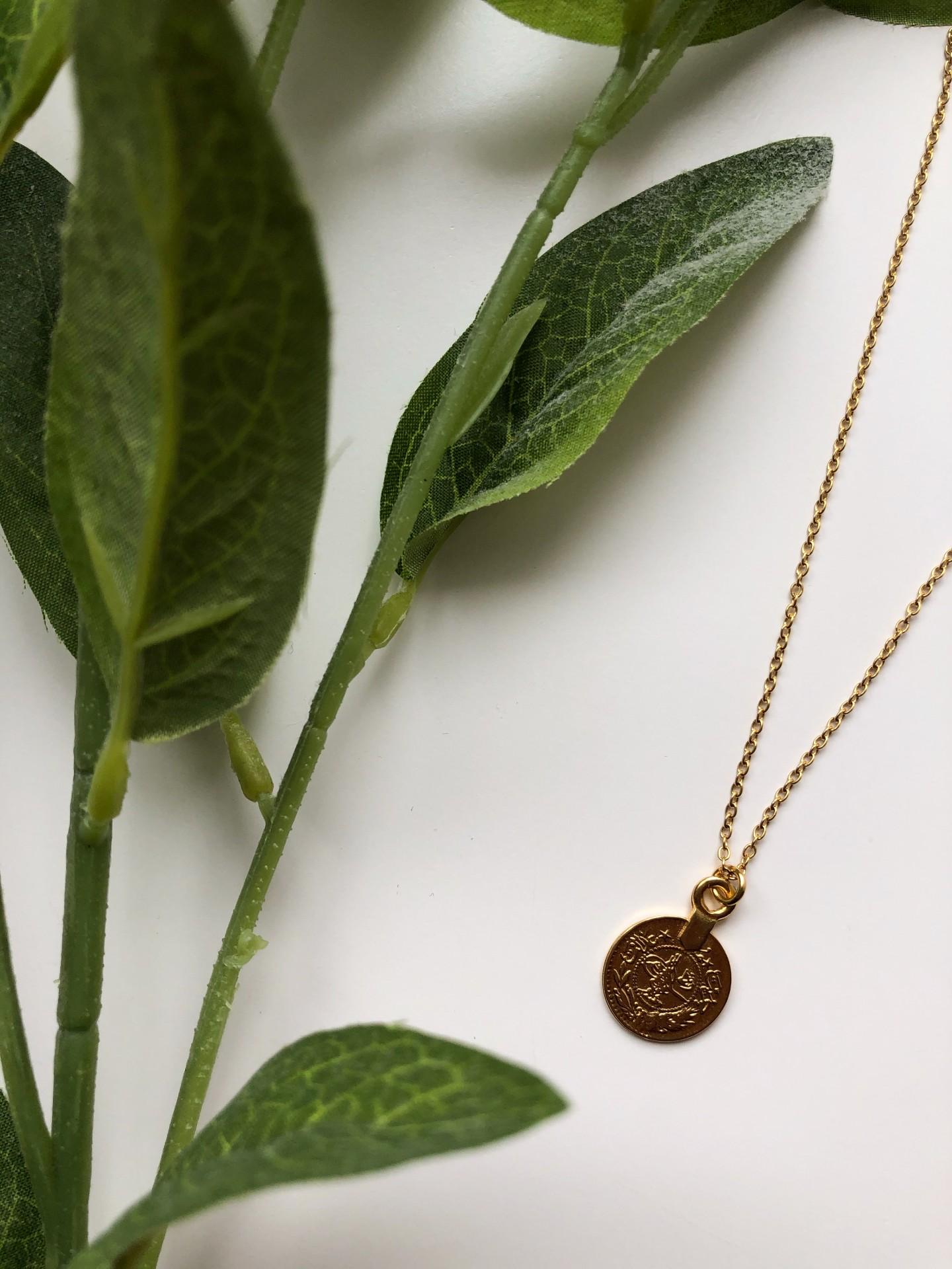 Aloe Necklace (GOLD) - ACTO DESIGN