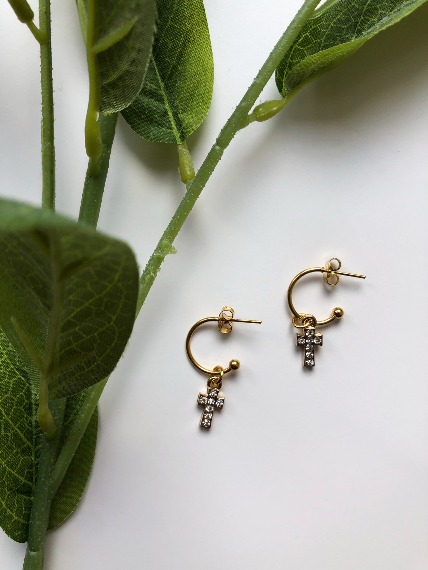 Rose Earrings (GOLD) - ACTO DESIGN