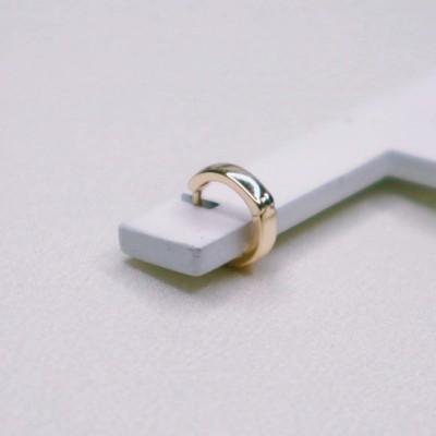 Mini Argola Lisa Dourada - 39a Brand