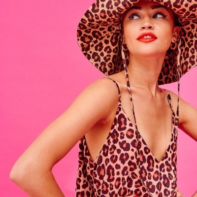 PARIS HAT (LEOPARD) - KARAVAN CLOTHING