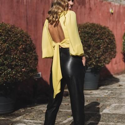 Blusa Amarela - KAOÂ