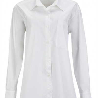 MASCULINE SHIRT - MISSES WHITE