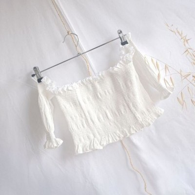 MALASPINA TOP WHITE - SIZ BRAND