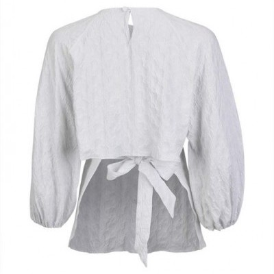 Misses Characterful Blouse - MISSES WHITE