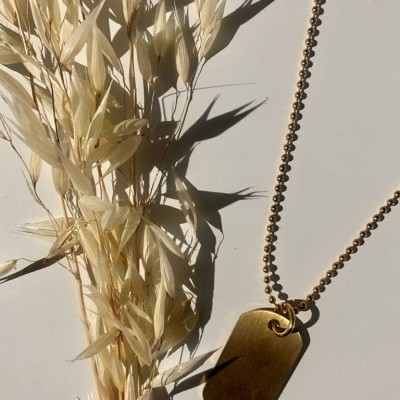 Sandalwood Necklace (GOLD) - ACTO DESIGN