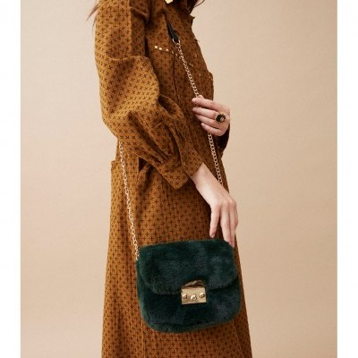 HAND BAG SHILOW GREEN - WILD PARIS