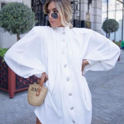 Vestido Casaco Branco - KAOÂ