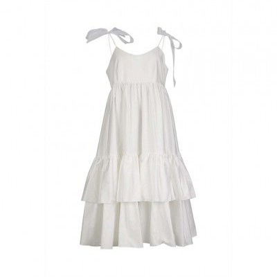 Misses Calm Dress - MISSES WHITE