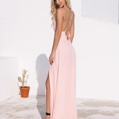 Vestido Comprido Rosa - KAOÂ