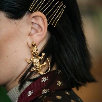 LIZARDS EARRINGS - NATIA X LAKO