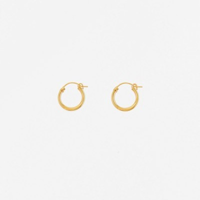 Gold Hoops Mini - INSPIRATION HER