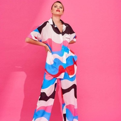 TITO TROUSERS (ABSTRACT) - KARAVAN CLOTHING