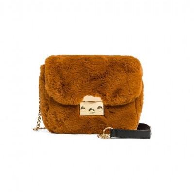 HAND BAG SHILOW CARAMEL - WILD PARIS