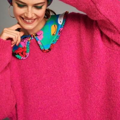 ZOE SWEATER (FUCHSIA) - KARAVAN CLOTHING