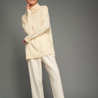 ELIN SWEATER (IVORY) - KARAVAN CLOTHING