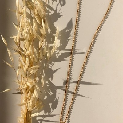Aloe Necklace (GOLD) - ACTO DESIGN