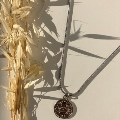 Patchouli Necklace (SILVER) - ACTO DESIGN