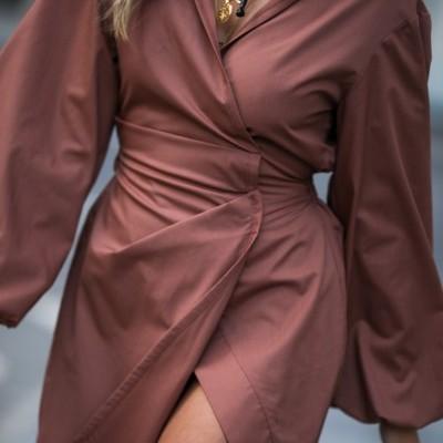 Vestido Rosa Estruturado - KAOÂ
