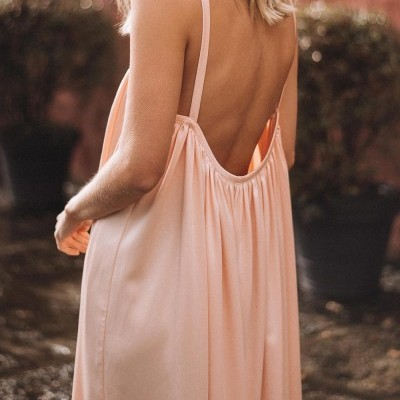 Vestido Salmão Claro - KAOÂ