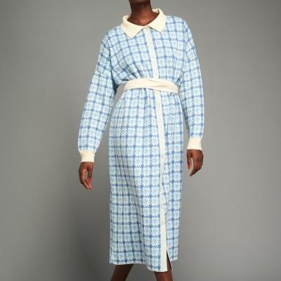 FIKIRI SHIRTDRESS (BABY BLUE) - KARAVAN CLOTHING