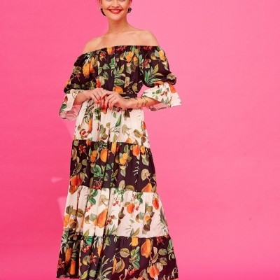 DASHA DRESS - KARAVAN CLOTHING