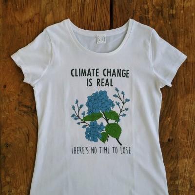 CLIMATE CHANGE T-SHIRT (GOTS) - SIZ BRAND