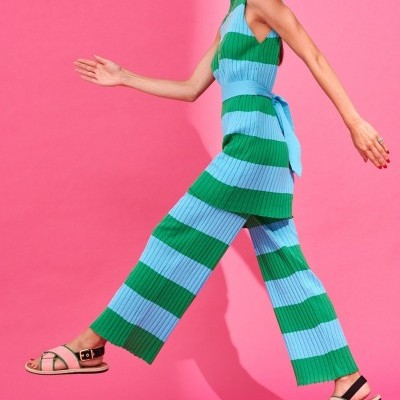 AUDREY TOP/DRESS (GREEN / TURQUOISE) - KARAVAN CLOTHING