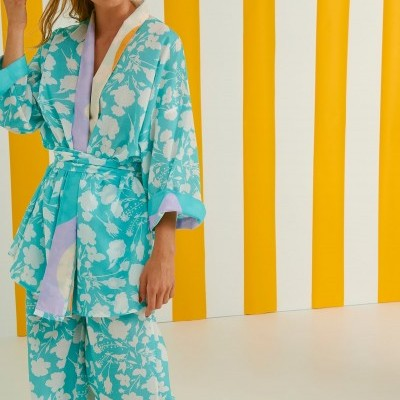BING KIMONO (FLOWERS) - KARAVAN CLOTHING