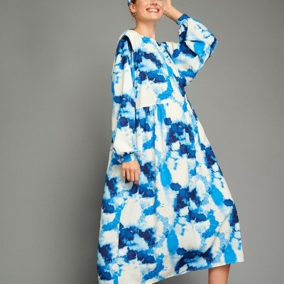CINDY DRESS (TIEDYE) - KARAVAN CLOTHING