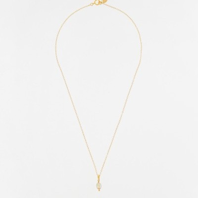 Peach Pearl Necklace - INSPIRATION HER