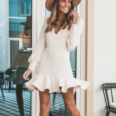 Vestido Creme - KAOÂ