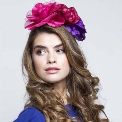 DANA FLORAL HEADBAND - Johnny Loves Rosie