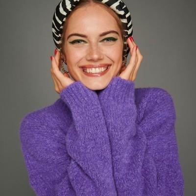 LIZIE TURBAND (ZEBRA) - KARAVAN CLOTHING