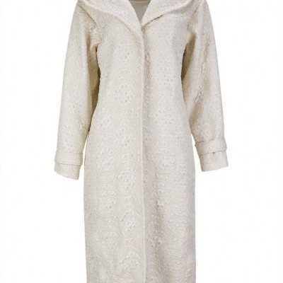 MW SOPHIA COAT - MISSES WHITE