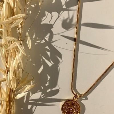 Patchouli Necklace (GOLD) - ACTO DESIGN