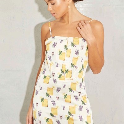 Lemonade Dress - NEVER FULLY DRESSED